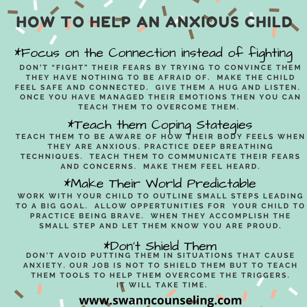 How to help children with Anxiety